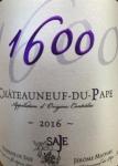 """2016 Châteauneuf-du-Pape """"1600"""""""