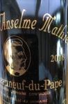 """2018 Châteauneuf-du-Pape """"Cuvée Marquis Anselme Mathieu"""