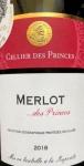 2018 Merlot IGP Vaucluse Cellier d.Princes