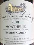 2018 Monthèlie AOP
