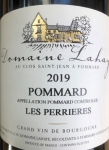 "2019 Pommard ""Les Perrières"" AOP"